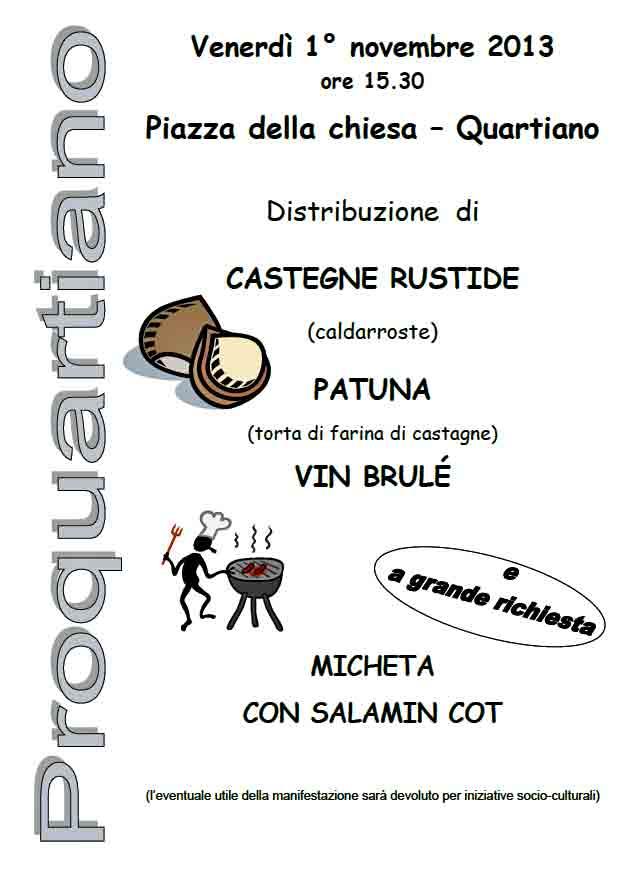 Castegne e patuna 2013